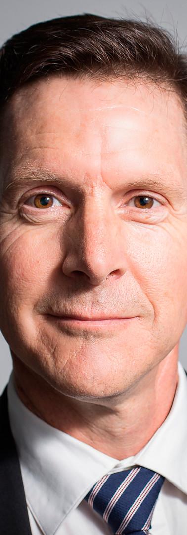 LinkedIn headshot of a senior executive
