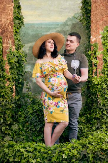 Couple maternity shot