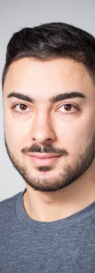 Actor's headshot