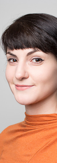 Headshot of a young woman