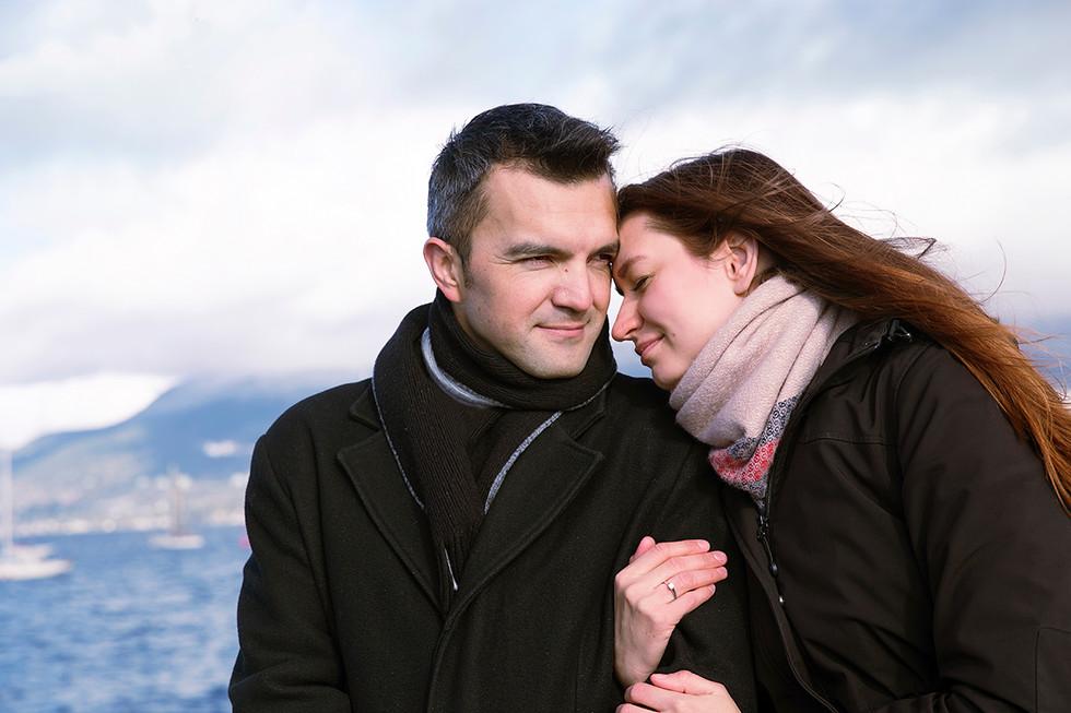 Surprise Engagement Photo