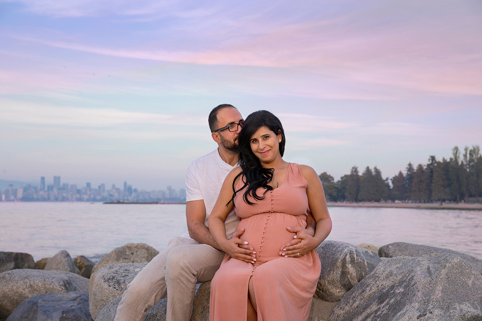 Couples Maternity Photosession
