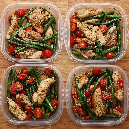 Revised meal plan