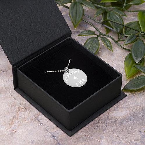 Engraved ObonaGIrl Necklace