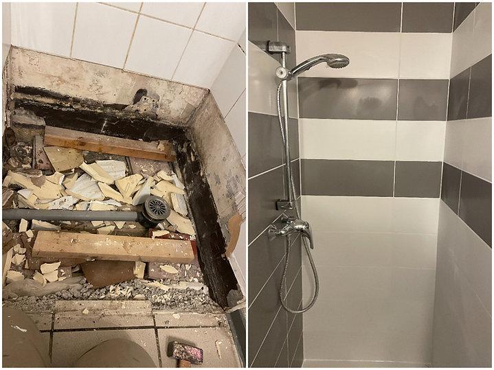 Rénovation douche