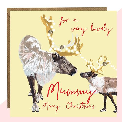 'Lovely Mummy' Christmas Card