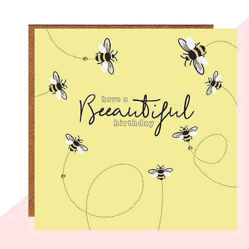 Beeautiful Birthday Card