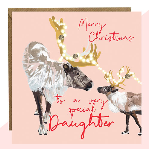 'Special Daughter' Christmas Card