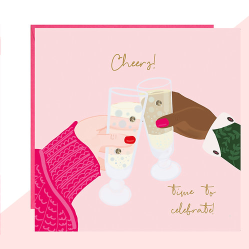 Cheers! Time to Celebrate Card