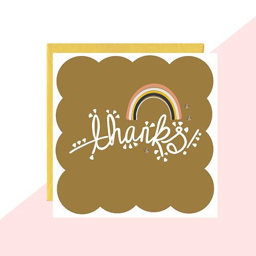 'Thanks!' Mini Card