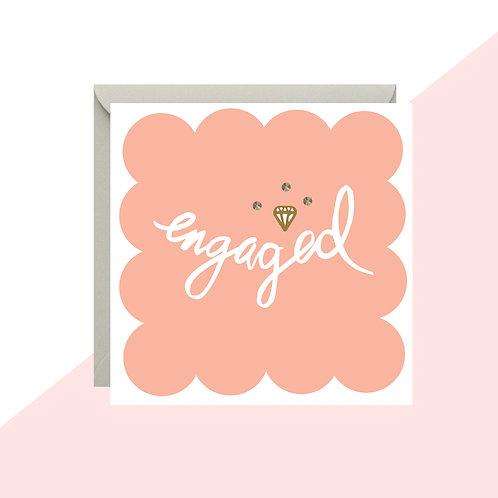 'Engaged' Mini Card