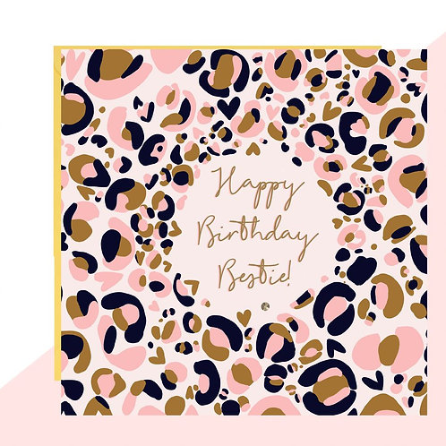 Happy Birthday Bestie! Card