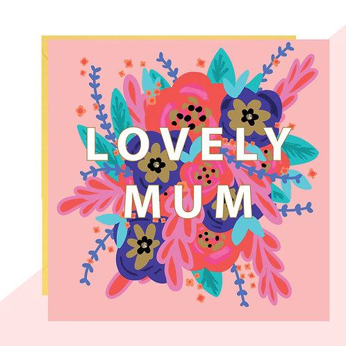 'Lovely Mum' Card