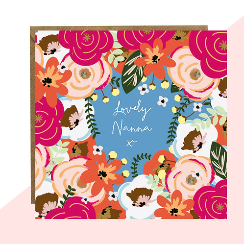 'Lovely Nanna' Card