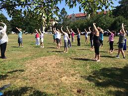 Kind Karma Yoga Walking Meditation.