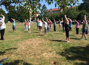 Create Kind Karma with Awaken Qigong: Radiant Rainbow Dance Exercise.