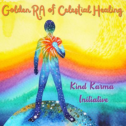 Kind Karma Golden RA Healing.