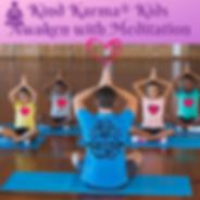 Kind Karma Yoga Teacher and Children