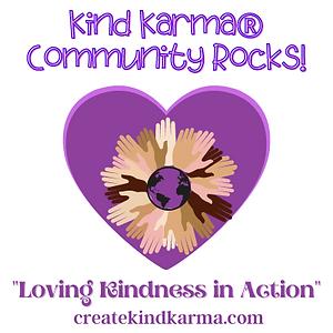 Kind Karma Community Rocks Iniative