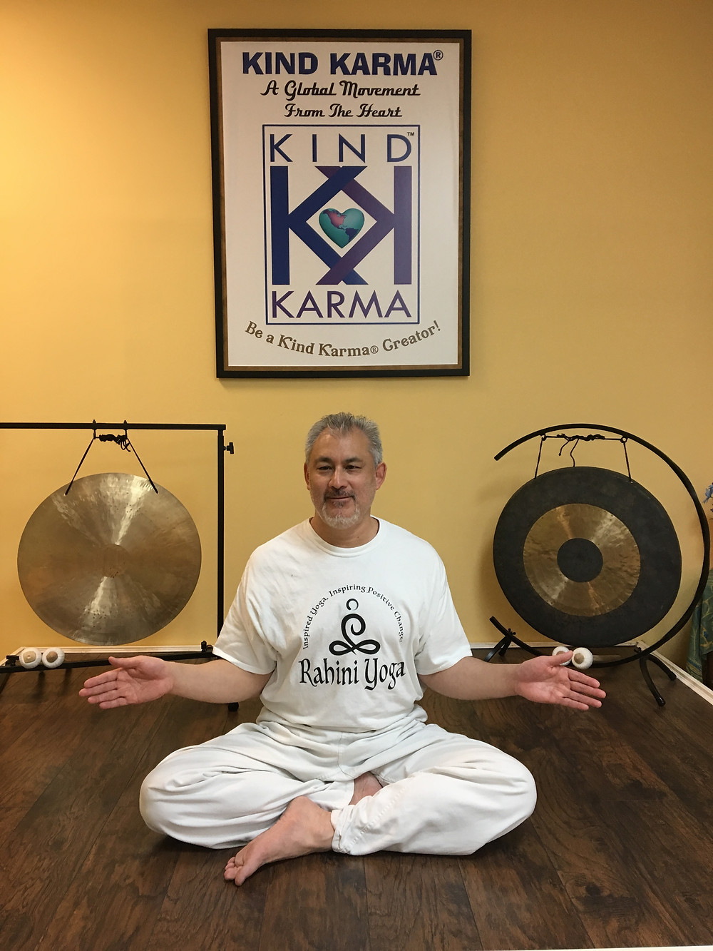 "Dr. Dean Telano Teaching a Rahini Yoga® Healing Kriya: ""Spirals of Divine Healing Light"" Meditation."