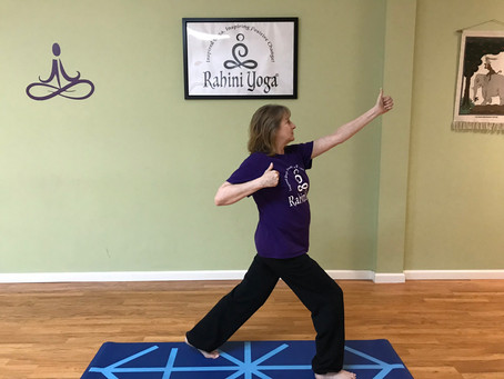 Kind Karma Rahini Yoga: Archer Pose 2, Drawing the Bow.