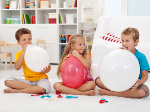 """Breathe with Kindness: """"Balloon Breath"""". Kind Karma® Kids Yoga. Youth Empowerment of Wholeness: YEOW"""