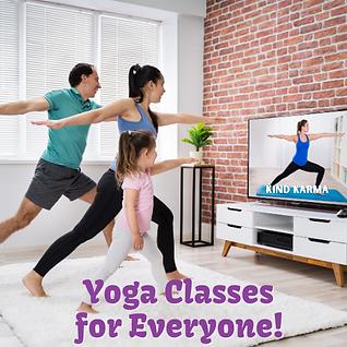 Kind Karma Worldwide Yoga Classes.