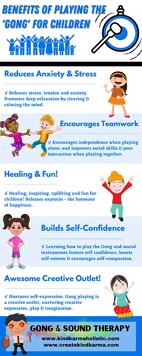 Benefits of Playing the Gong for Children