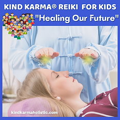 Kind Karma Reiki Sessions for Kids.