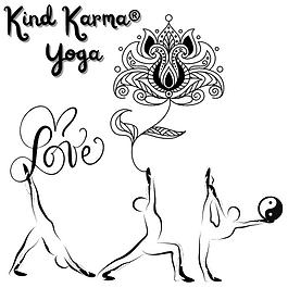 Kind Karma Abstract Yoga Poses.