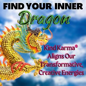Kind Karma Worldwide Logo with Dragon.