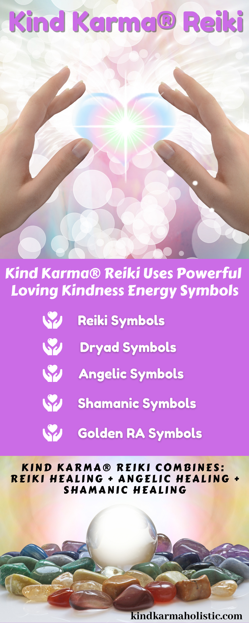 Kind Karma Reiki Description
