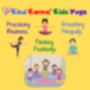 Kind Karma Kids Taking Yoga Class