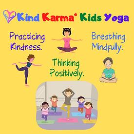 Kind Karma Kids Taking Yoga Classes