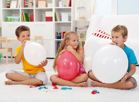 "Breathe with Kindness: ""Balloon Breath"". Kind Karma® Kids Yoga. Youth Empowerment of Wholeness: YEOW"