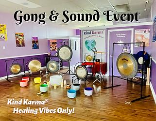 Kind Karma Worldwide Gong & Sound Bath.