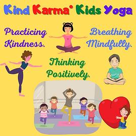 Kind Karma Children's Yoga Class.