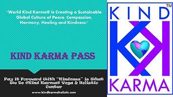 Kind Karma Pass for a Free Yoga Class