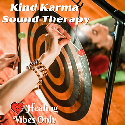 Kind Karma Gong with flumies.
