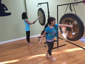 Kind Karma: 'Kids R Key' - Benefits of Gong Playing for Children