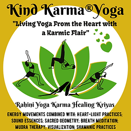 Kind Karma Yoga Logo Illustration
