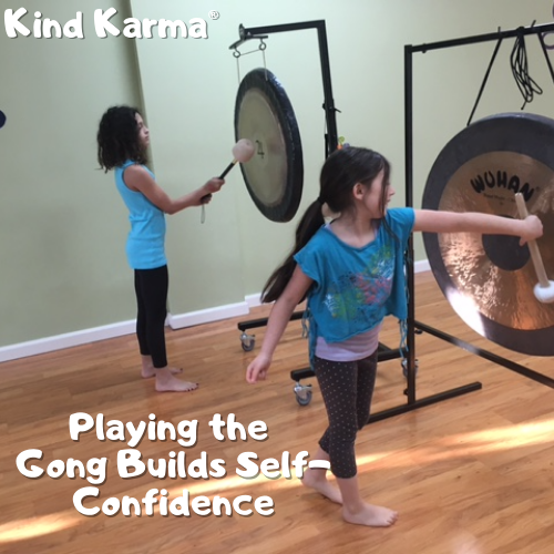Kind Karma Gong & Sound Healing Course for Children.