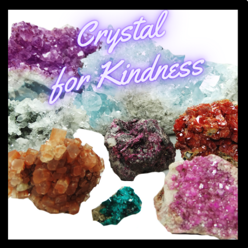 Various Crystals that raise your personal vibration.
