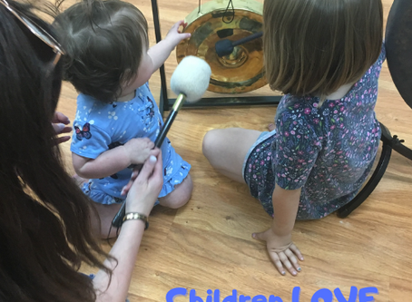 Children receive incredible health benefits when they learn how to play the GONG!