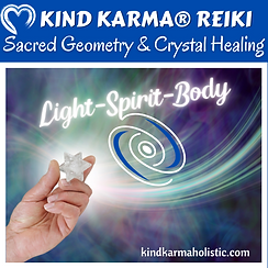 Kind Karma Reiki with Crystals.
