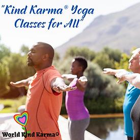 Kind Karma Yoga Classes For All People