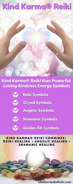 Kind Karma Reiki Healing Session Benefits