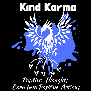Kind Karma Worlde Phoenix Symbol.