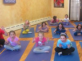 Kind Karma Kids Yoga Class.