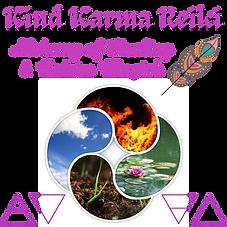 Kind Karma Reiki and the Four Elements.